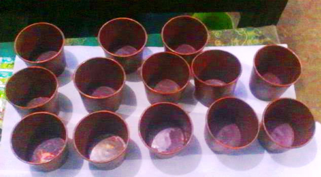 Gelas Tembaga Part 2 (Pesanan Sdri Sefrina Yogyakarta)