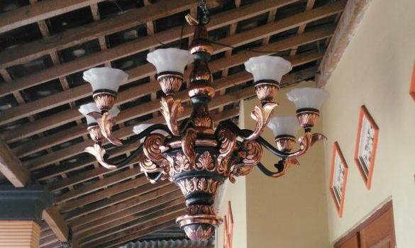 Lampu Gantung Mewah dan Klasik Tembaga dan Kuningan
