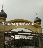 Kubah Gapura Masjid Hidayatul Arifin Depok