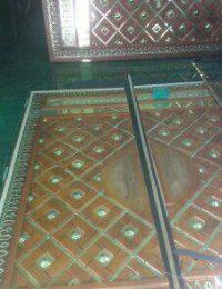 ukir pintu masjid nabawi