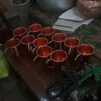 kerajinan gelas tembaga