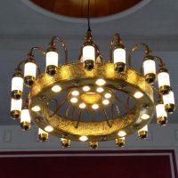 lampu gantung ala masjid nabawi