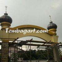 tembagart kubah masjid tembaga