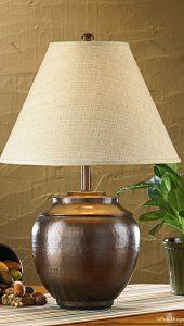 lampu meja tembaga 2