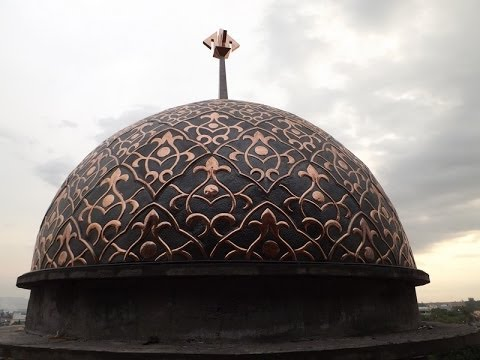 Kubah Masjid Tembaga