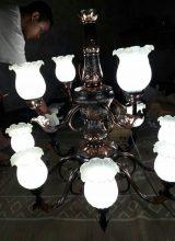 jual lampu gantung tembaga