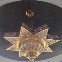 lampu gantung mewah kuningan