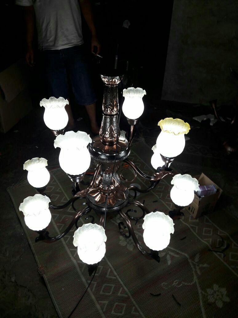 lampu gantung mewah - tembagart