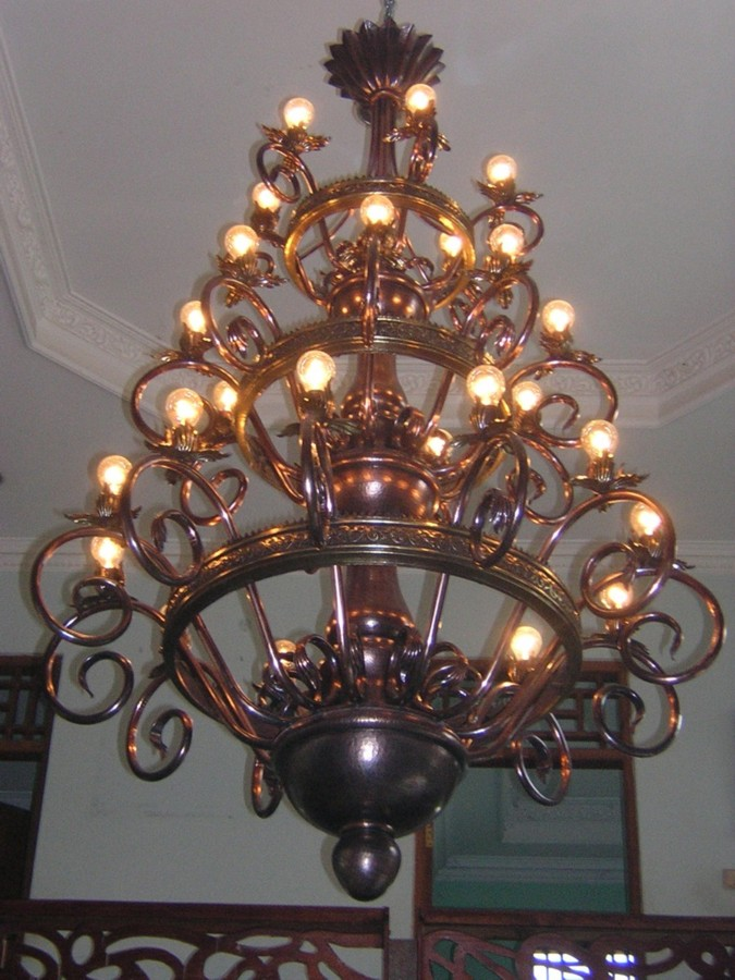 lampu mewah ruang tamu