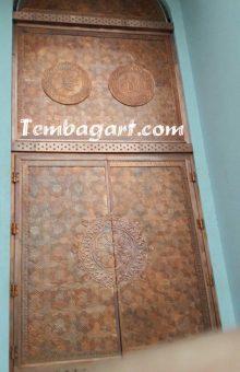 pintu masjid agung praya