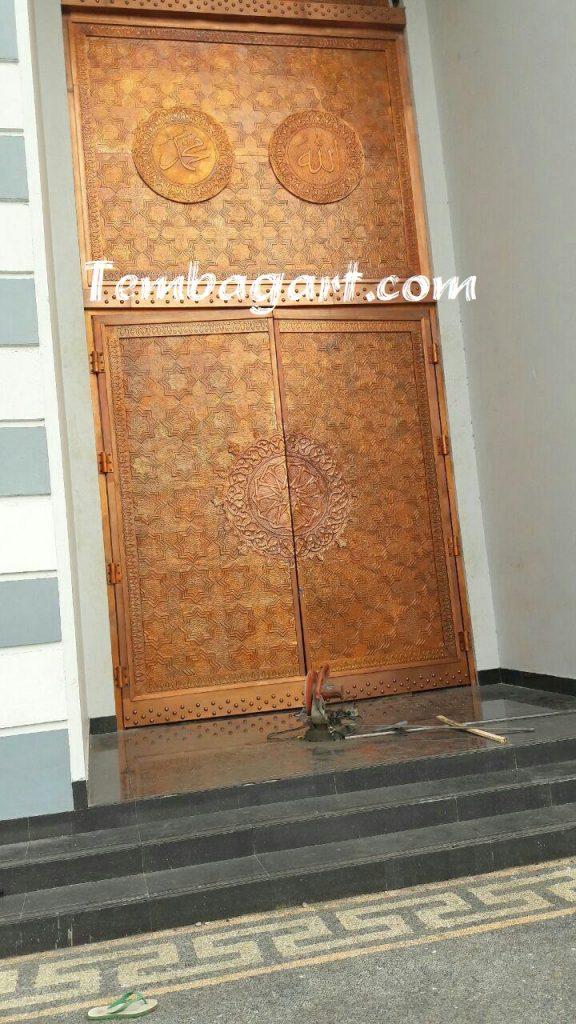 jasa ornamen pintu masjid