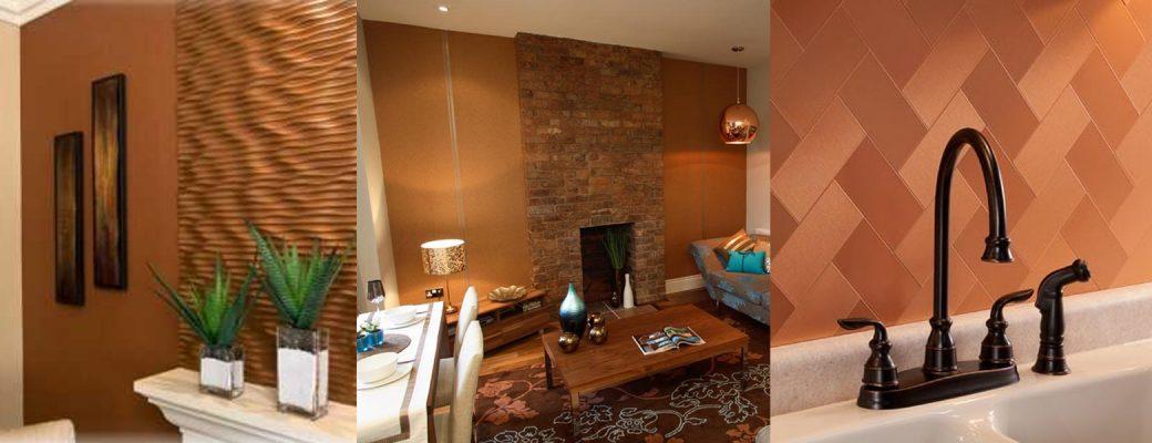 interior design dengan kerajinan tembaga