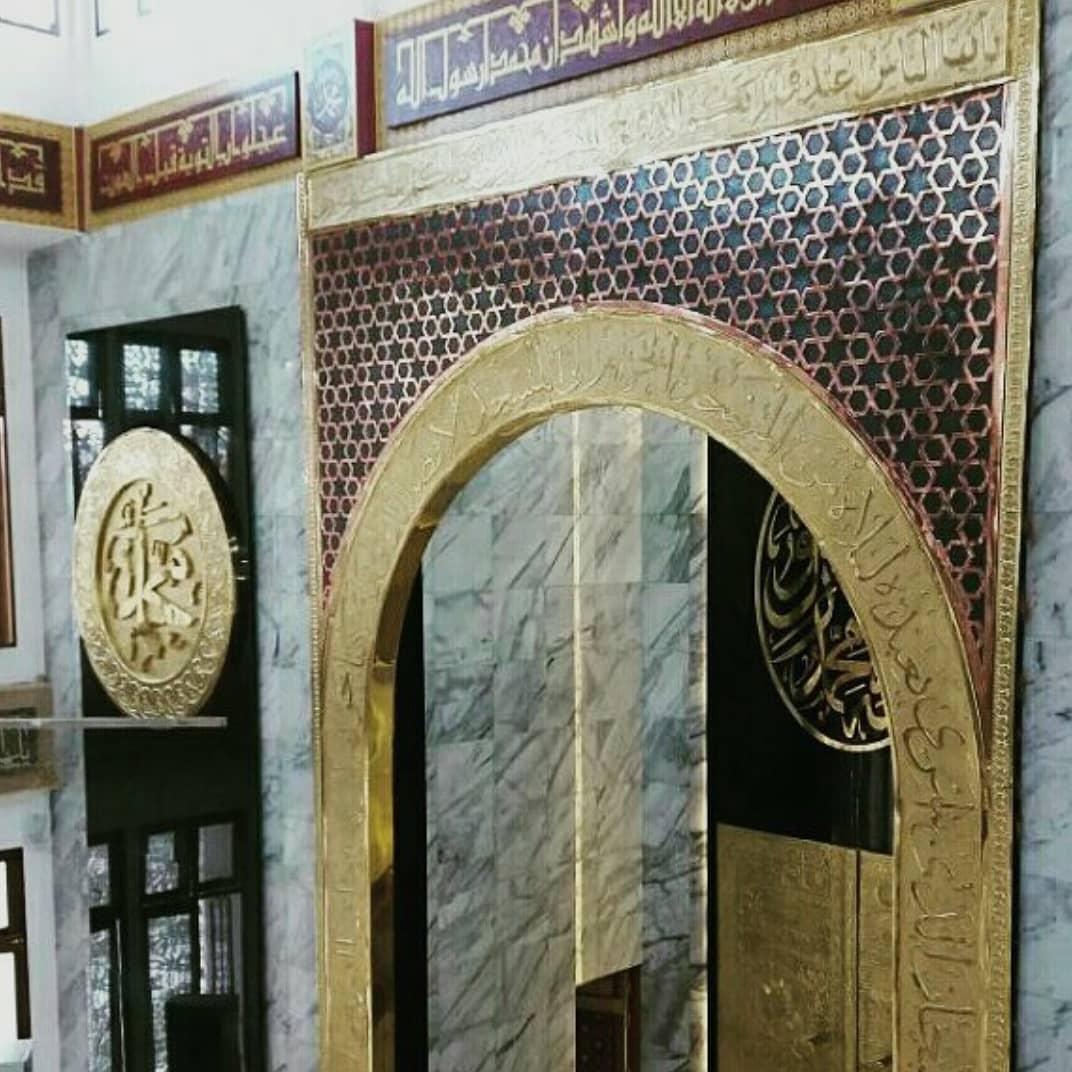 jasa ornamen mihrab masjid