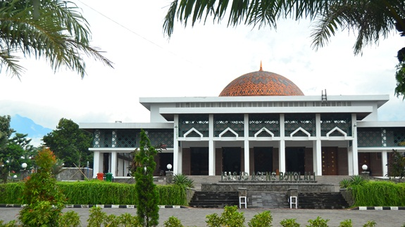 kubah masjid tembaga masjid agung boyolali